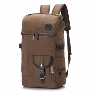 Leisure Mountaineering Outdoor Large Travel Rucksack Sport Backpack Drum Canvas Backpack