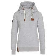 Simple Fall Winter Hoodie Outfit Girls Sport Cashmere Top Pure Color Women Sweater