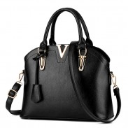 New Lady Simple Tote Purse Shell  Leather Messenger Bag Handbag Shoulder Bag