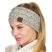 New Motley Twist Soft Thick Wool Hairband Knit Warm Winter Women Hairbands