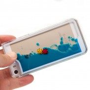 Flowing Fish Liquid Ocean Iphone 4/5/6 Cases