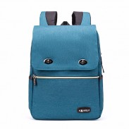 Leisure Nylon British Style Student Bag Simple Large School Backpack