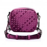 New Summer Gradient Mini Chain Woven Square Shoulder bags