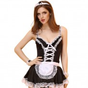 Sexy Women Uniform Lingerie Roles Cosplay Masquerade Lace Costume Lingerie