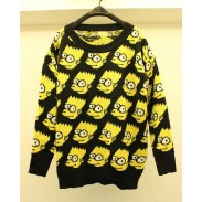 Unique Cartoon Loose Long-sleeved Slim Thick Sweater