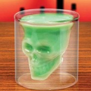 Creative Skull Shot Imprisoned Pirate Vodka Glass Cup