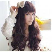 Fashion Sweet Spiral Wavy Fiber Long Wigs