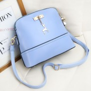Solid Multifunctional Lovely Fawn Fashion Shoulder Bags