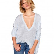 Loose Long Sleeve Perspective Big Size Sweater