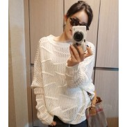 Hollow out Knitwear Leisure Thin Sweater