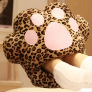 Cartoon Leopard Galesaur Doraemon Cat USB Warm Foot Shoes Warmer