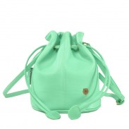 Sweet Lovely Mini Solid Drawstring Bucket Bag Messenger Bag Shoulder Bag