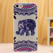 Retro Lovely Elephant Folk Iphone 5/5s/6 Cases