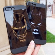 Cool Hero Cartoon Batman Iron Man Iphone 6/6s/6 plus/6s plus/7/7plus Iphone X Cases
