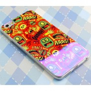 Colorful Monster Lion Silica Gel Thin Soft Case For Iphone 5/5S/6/6Plus