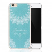 Fresh Lace Floral Wedding Girl Painted Relief Silicone Soft IPhone 6 Cases