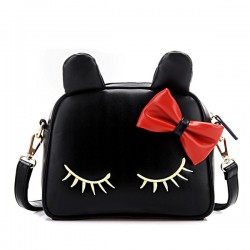 Lovely Cat Bow Mini Shoulder Bag Messenger Bag