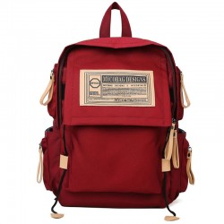 New Students Waterproof Business Work Bag 15.6 Inch Stylish College Laptop Bag School Backpack