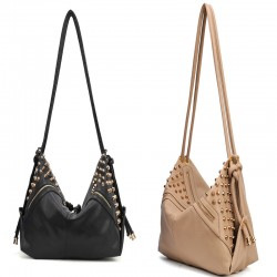 New Style Stars Retro Rivet Shoulder Bag