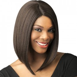 New Middle Separate Middle-Long Straight Hair BoBo Hair Lady's Hair Wig