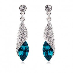 Miss Sea Elegant Fashion Crystal Earrings