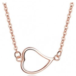 Love Heart 925 Sterling Silver Necklace