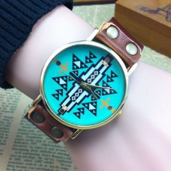 Retro Original Geometric Shape Watch