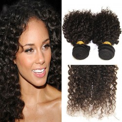 Kinky Curly Unprocessed Brazilian Virgin Human Hair
