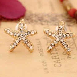 Lovely Sweet Starfish Earrings