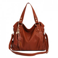 Fashion Elegant Tassel Handbag & Shoulder Bag