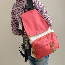 Fresh Colorful Leisure Canvas Backpacks