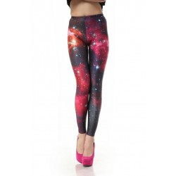 good Galaxy Pink Printed Gradient Leggings