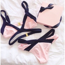 Sweet Bandage Bikini Sets Swimwear Beach Swimsuit