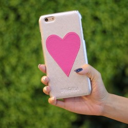 Original Handmand Heart-shaped Iphone 6 S Plus Case Cover