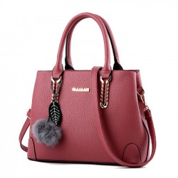 Fashion Ladies Twill Shoulder Bag Autumn Purse Crossbody Bags Winter Handbags
