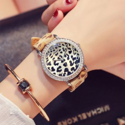 Unique Cool Leopard Print Watch