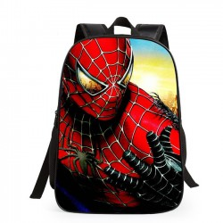 Cartoon School Student Cute Spider Man Super Hero Minions Children's Backpack