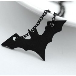 Dark Knight Batman Long Necklace