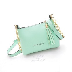 Fashion Sweet Tassel Lovely Chain Shells Shoulder Bag