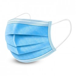 Disposable 3-Layers Anti Dust Comfortable Medical Sanitary Surgical Face Mask Anti Virus Breathable Face Mask