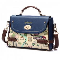 Lovely Cartoon Leather Handbag Shoulder Bag