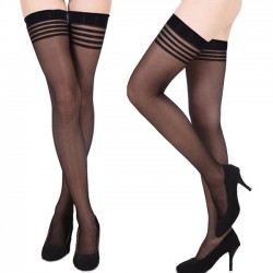 Sexy Net Sling Suspender Black Lace Lingerie Women's Stockings
