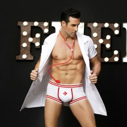 Sexy Doctor Male Nurse Cosplay Men's Bar Nightclub Costumes Men's Lingerie