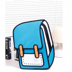 Lovely Second Element Cartoon Comic Backpack