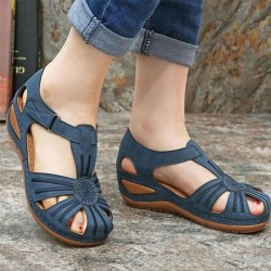 New Summer Shoes Slope Heel Non-Slip Bottom Women's Sandals