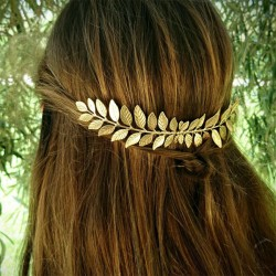 Fashion Leaves Alloy Hair Clip Leaf Hair Comb Hair Accessories