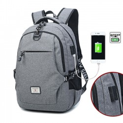 Simple Travel Bag Business Large Computer Bag Junior High School Bag Sport Backpack