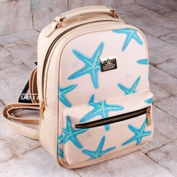 Cartoon Starfish Printing Leisure Traveling Backpacks