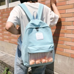Cute Cartoon Duck Elephant Pig Doll Student Bag Simple School Backpack