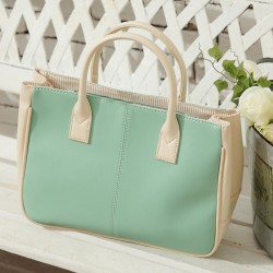 Fashion Elegant Sweet Green Handbag